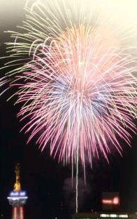 お祭り、花火のスポット!